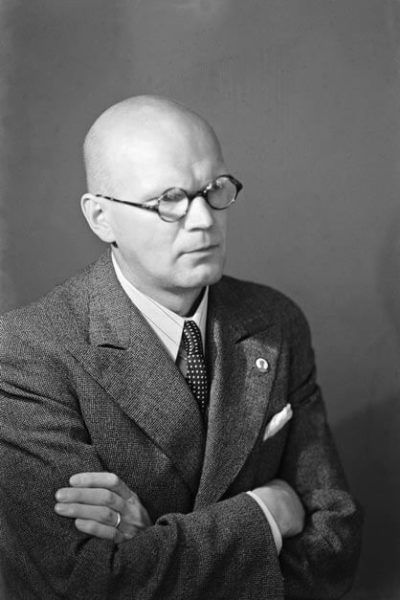 Urho Kekkonen, Minister of the Interior, in 1938. <em>Aarne Pietinen, Helsinki 1938. National Board of Antiquities, Historical Picture Collection</em>