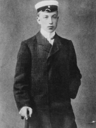 Risto Ryti at the age of 17 having passed his university entrance exams. <em>1906–1907. National Board of Antiquities, Historical Picture Collection</em>